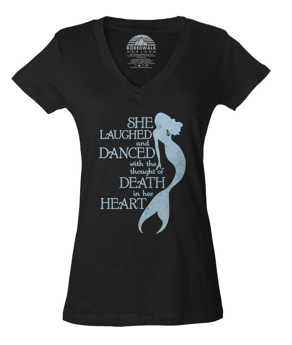 Women's The Little Mermaid Vneck T-Shirt