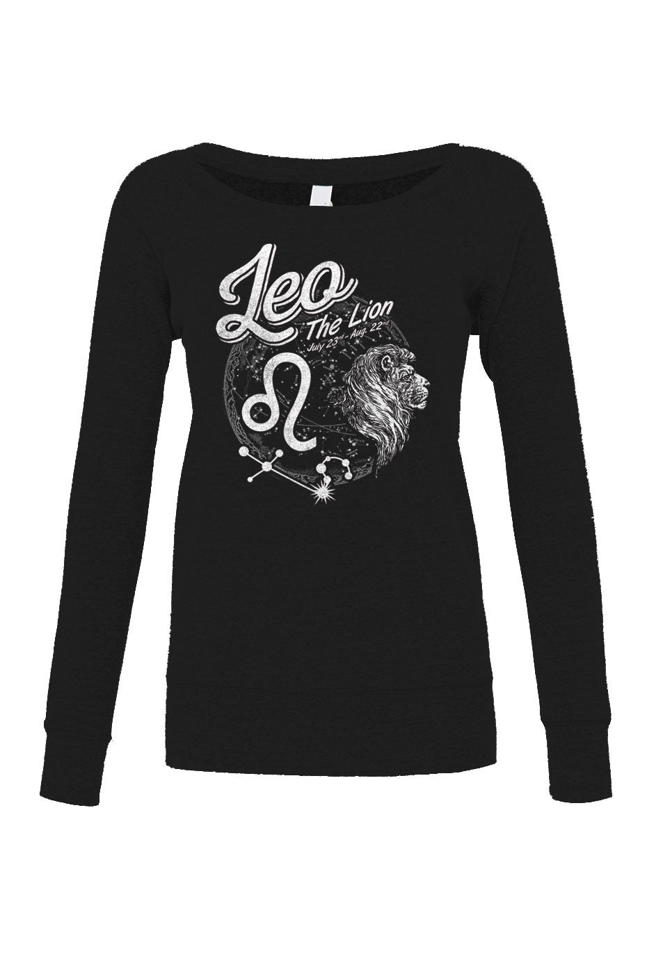 Women's Vintage Leo Scoop Neck Fleece - Juniors Fit