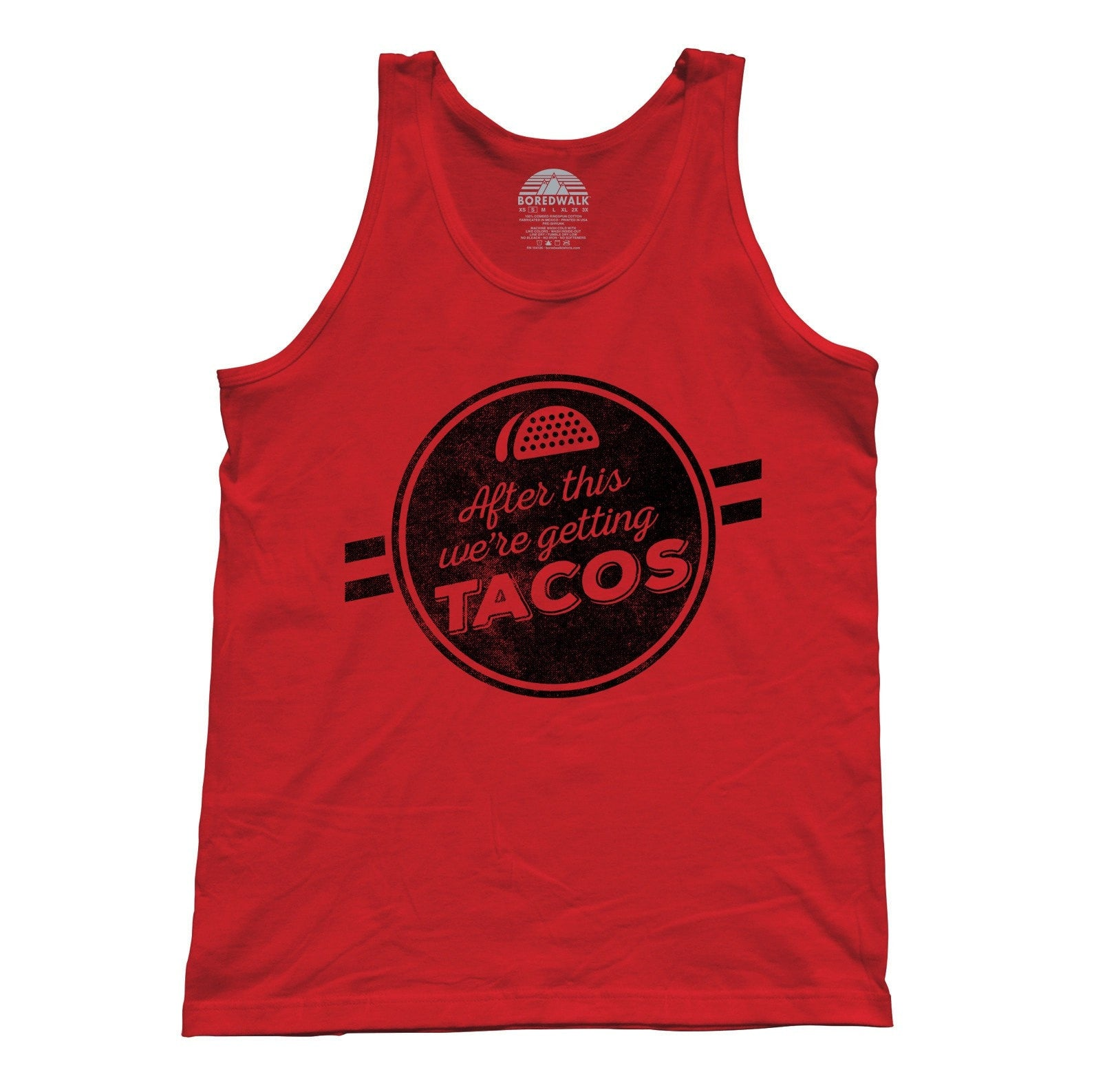 Unisex After This We're Getting Tacos Tank Top - Funny Foodie