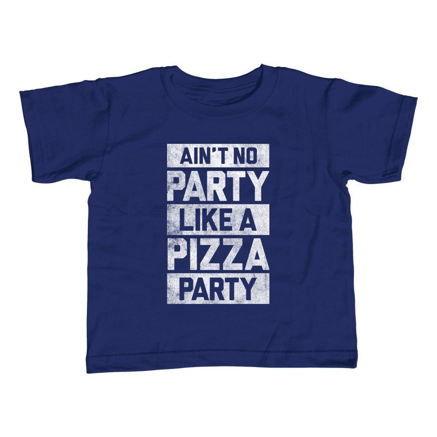 Boy's Ain't No Party Like a Pizza Party T-Shirt