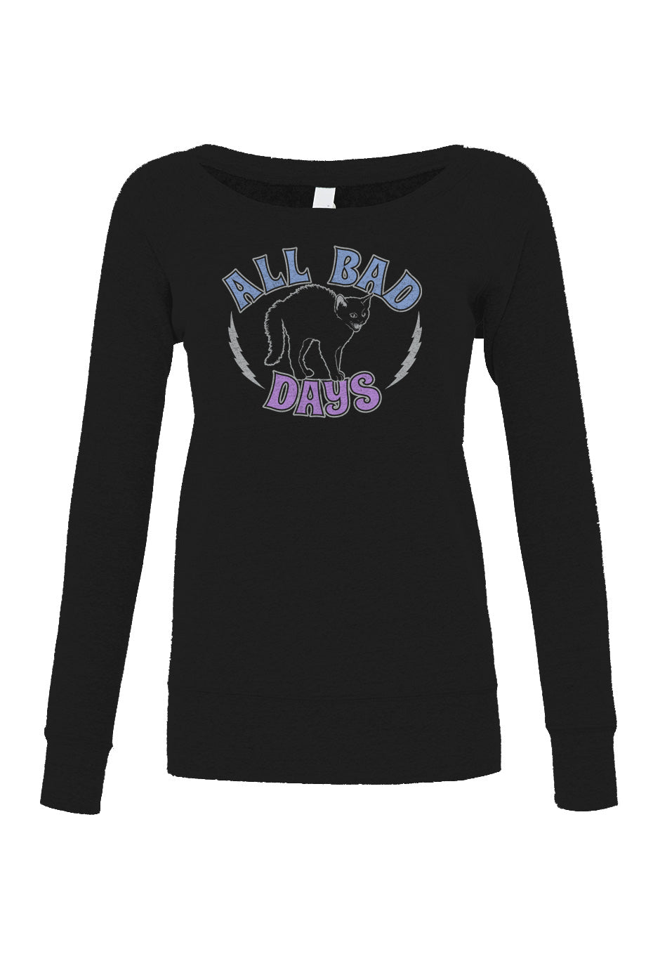 Women's All Bad Days Scoop Neck Fleece