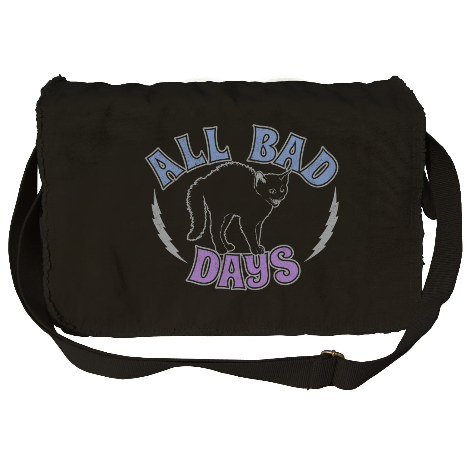 All Bad Days Messenger Bag