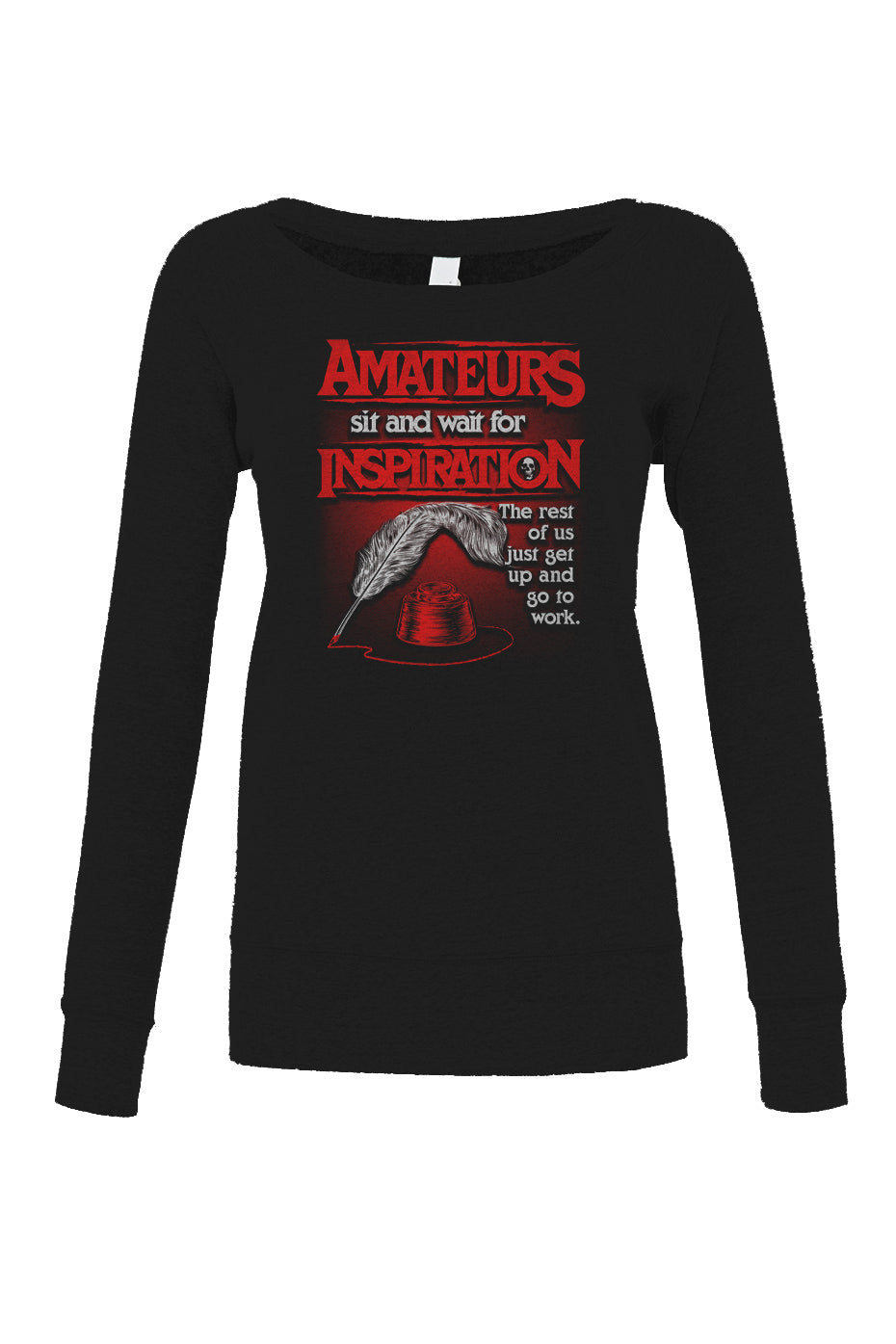 Women's Amateurs Wait for Inspiration Scoop Neck Fleece