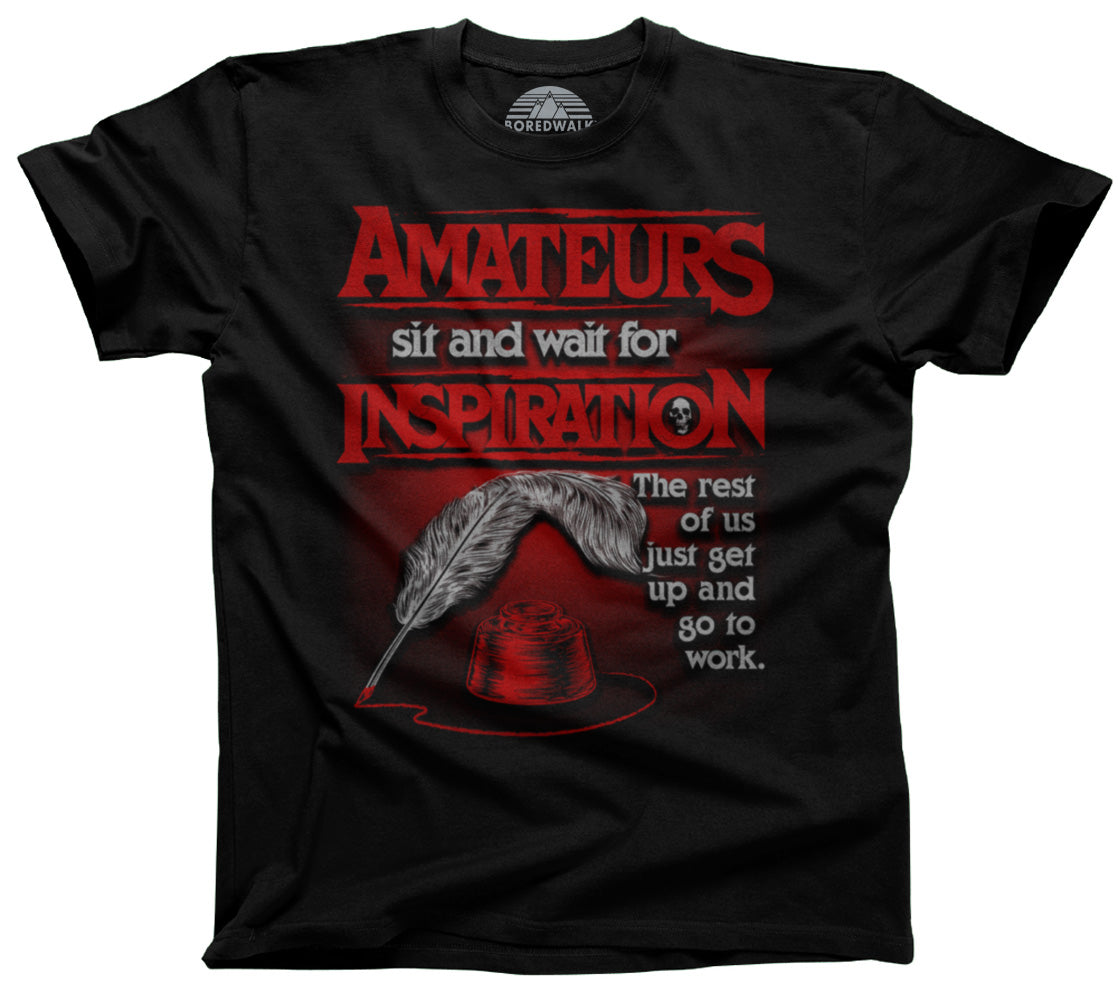 Men's Amateurs Wait for Inspiration T-Shirt