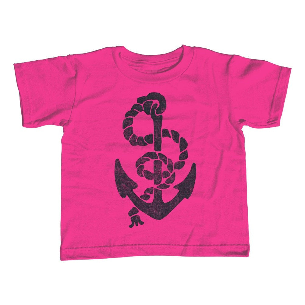 Girl's Vintage Anchor T-Shirt - Unisex Fit Nautical