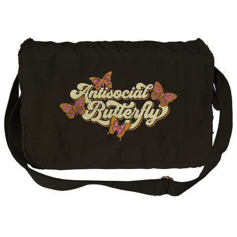 Anti-Social Butterfly Messenger Bag