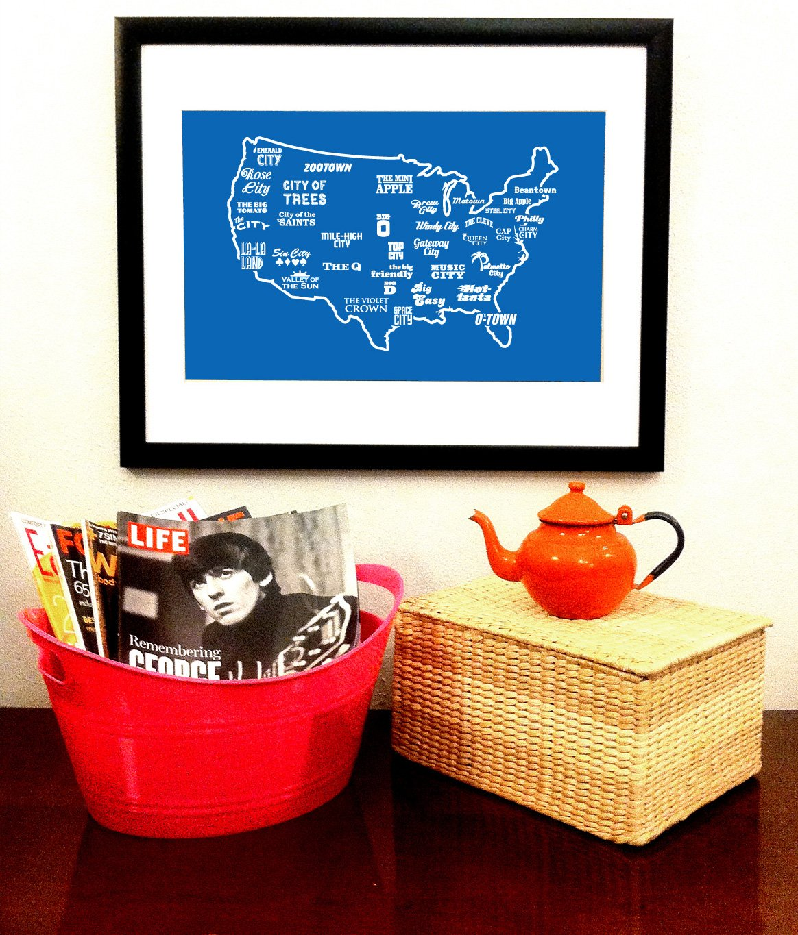 Anytown USA Print - By Ex-Boyfriend