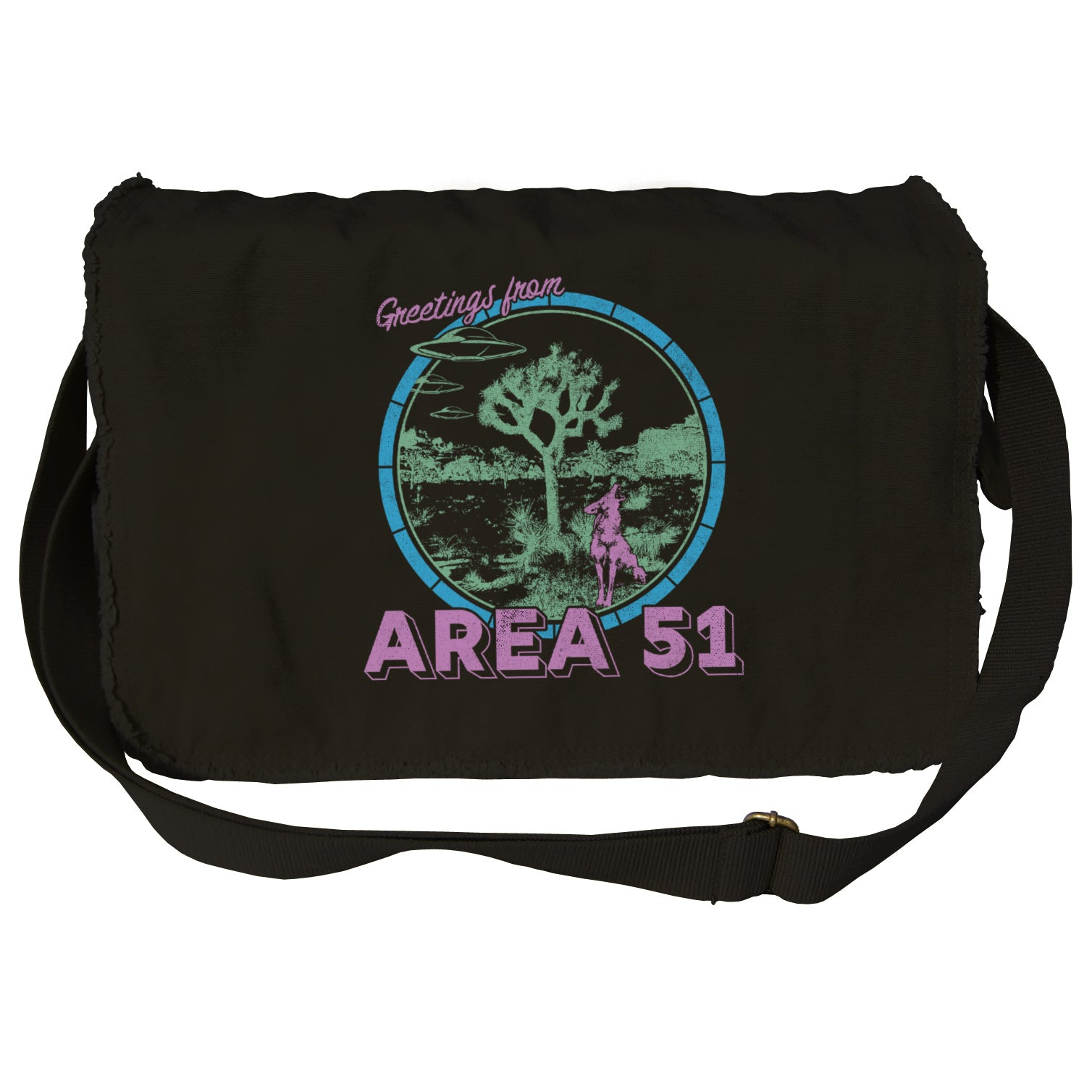 Greetings from Area 51 Messenger Bag