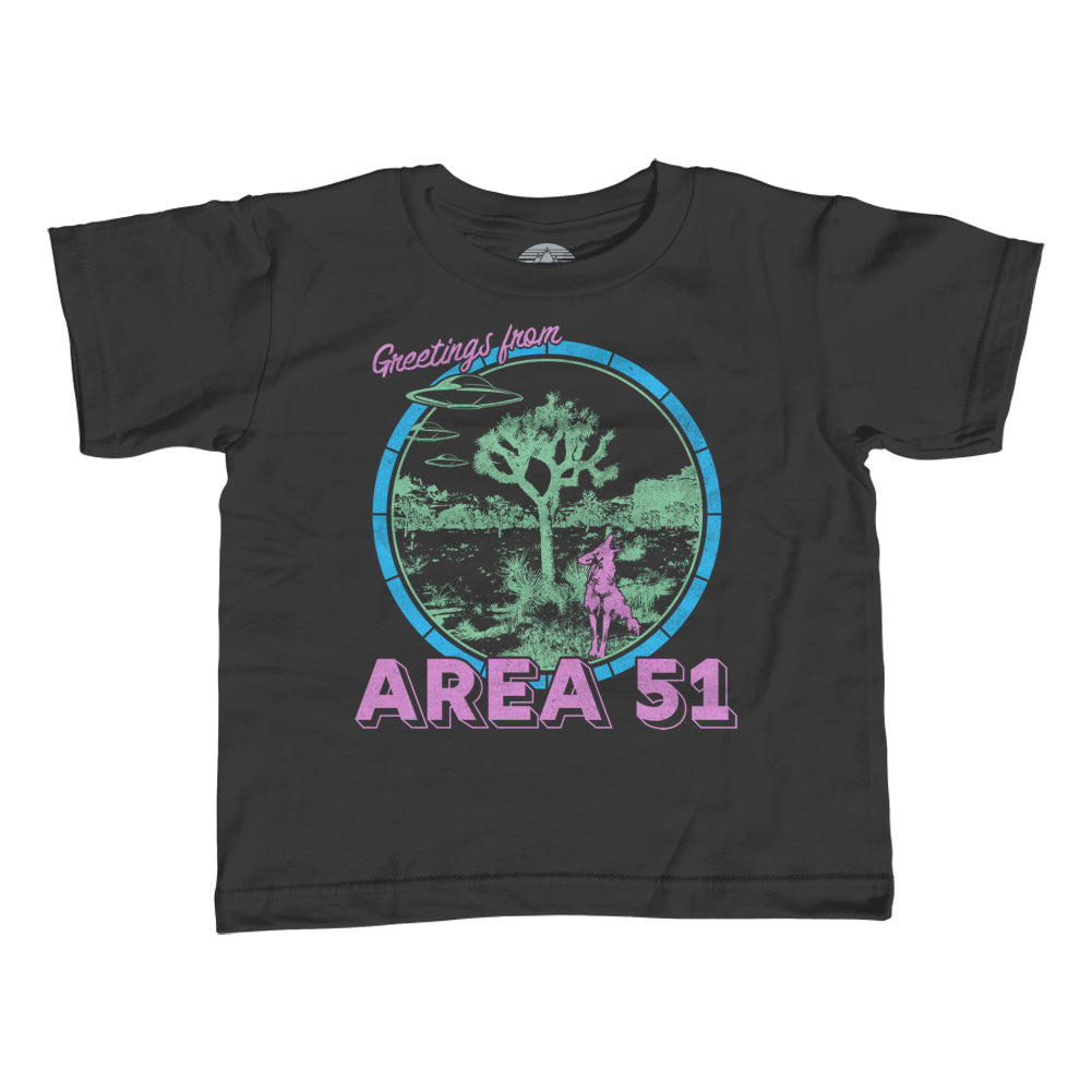 Boy's Greetings from Area 51 T-Shirt