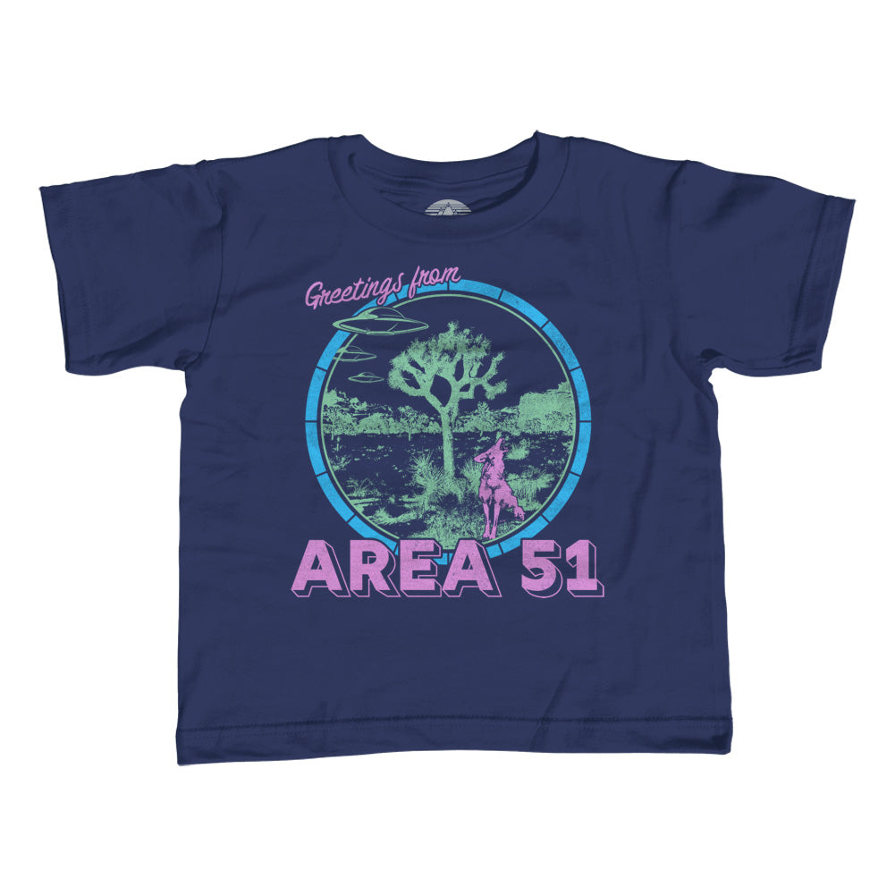 Girl's Greetings from Area 51 T-Shirt - Unisex Fit