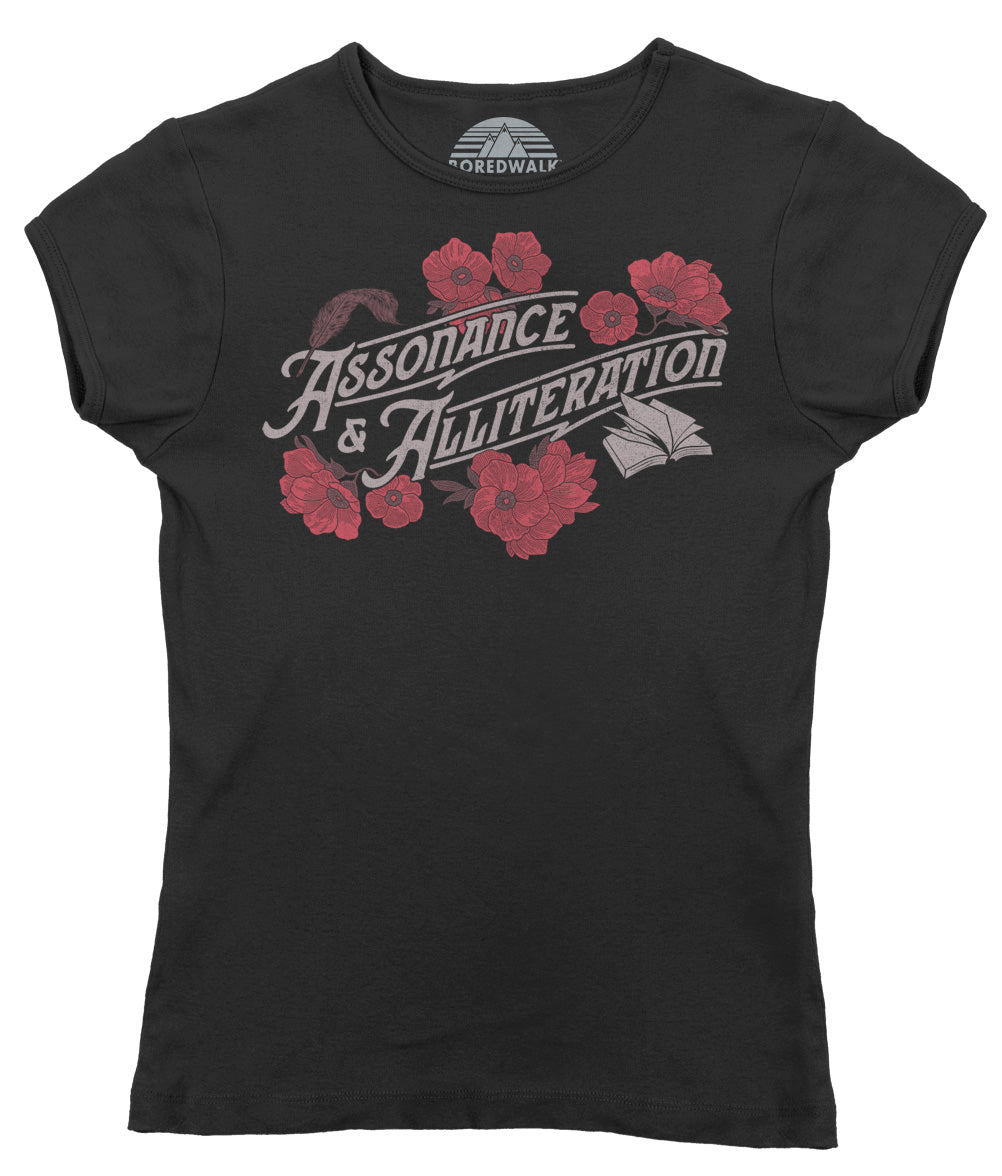 Women's Assonance and Alliteration T-Shirt