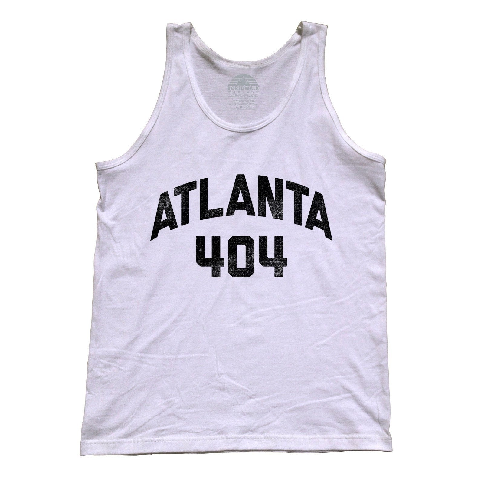 Unisex Atlanta 404 Area Code Tank Top