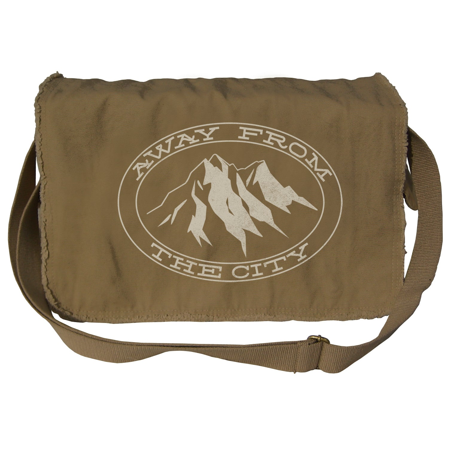 Away From The City Messenger Bag