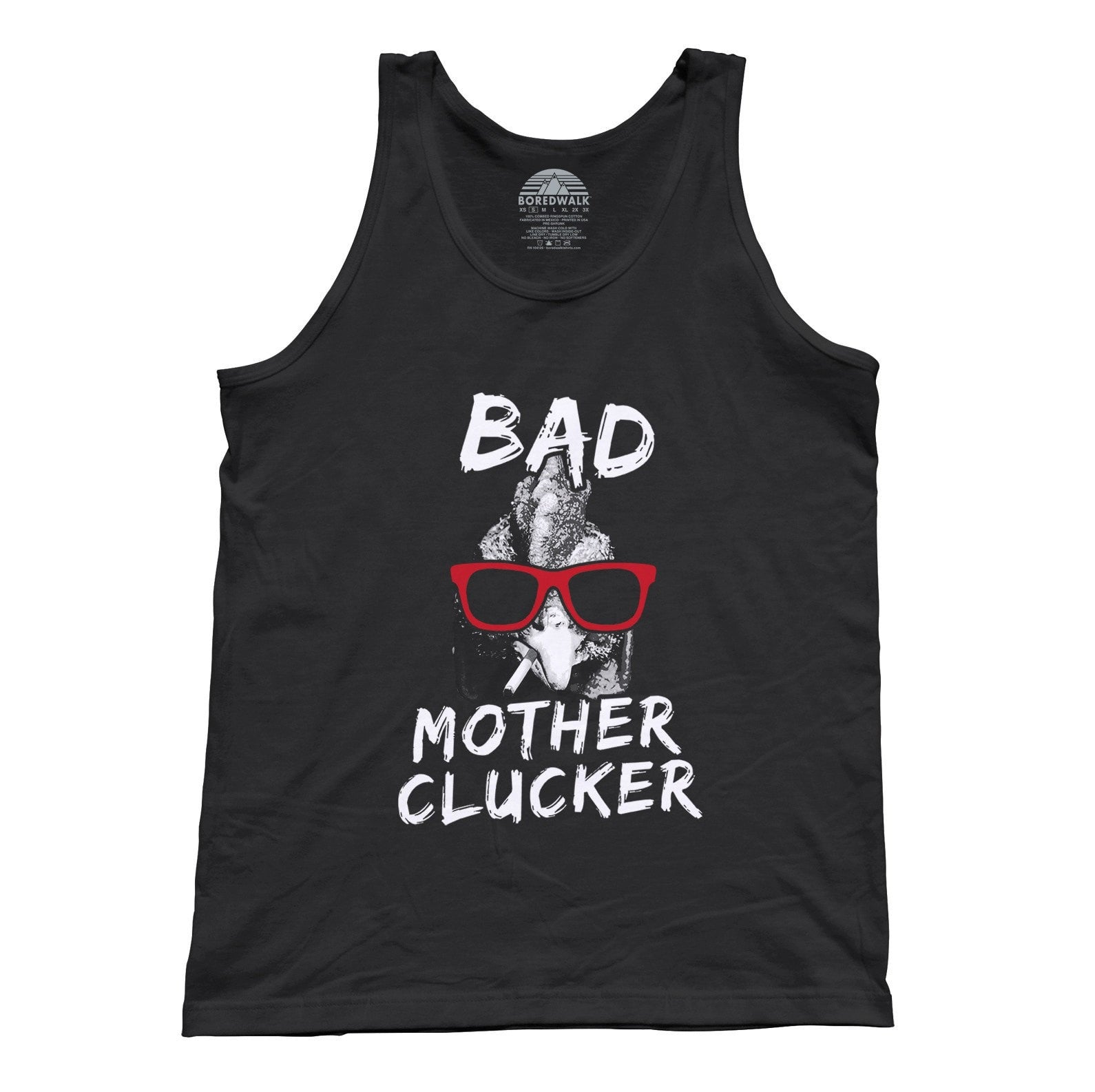 Unisex Bad Mother Clucker Chicken Tank Top