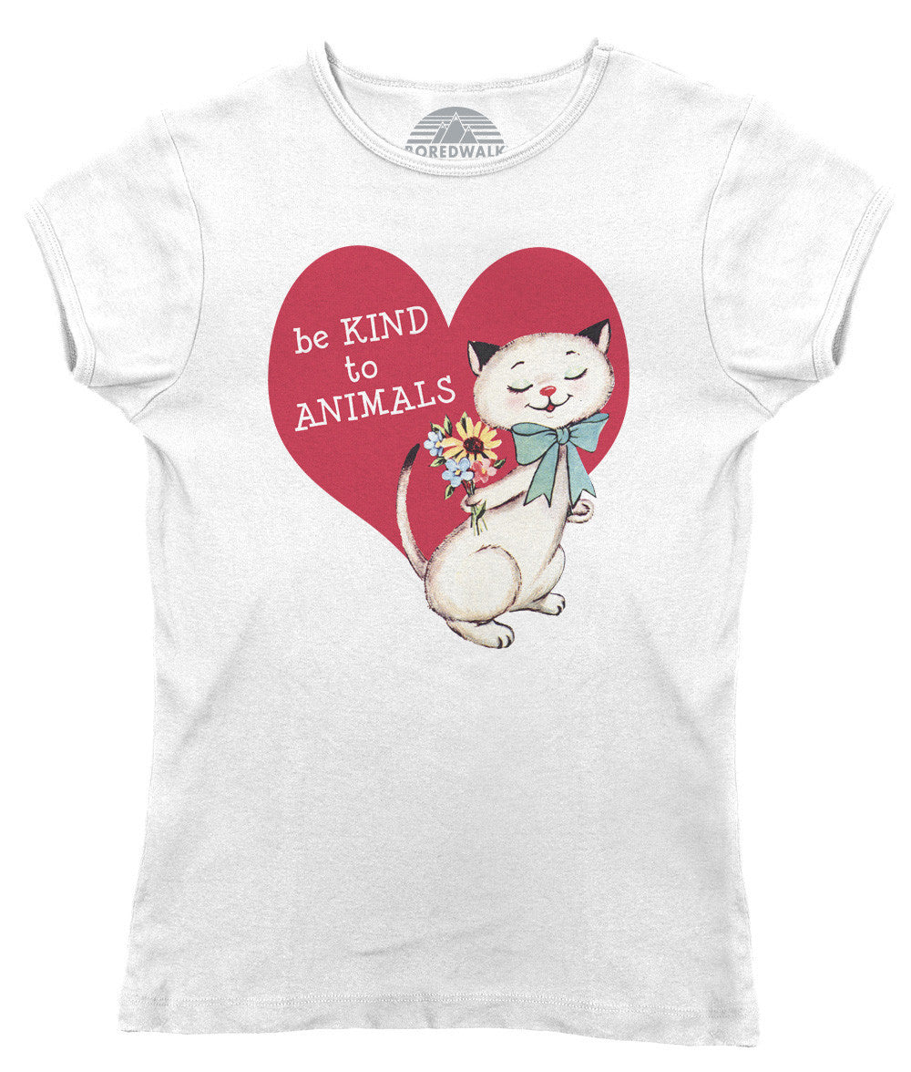Women's Be Kind To Animals T-Shirt