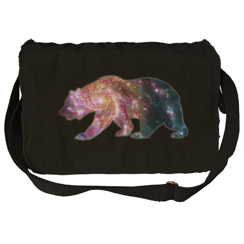 Space Bear Messenger Bag