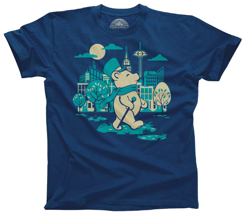 Men's Bear About Town T-Shirt - By Ex-Boyfriend