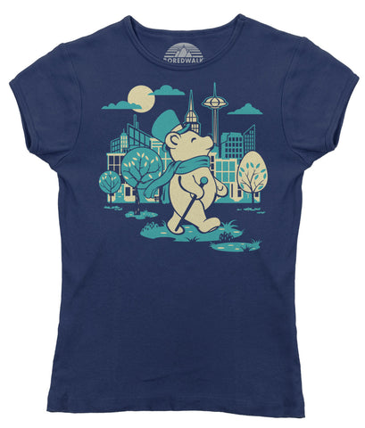 Women's Bear About Town T-Shirt - By Ex-Boyfriend