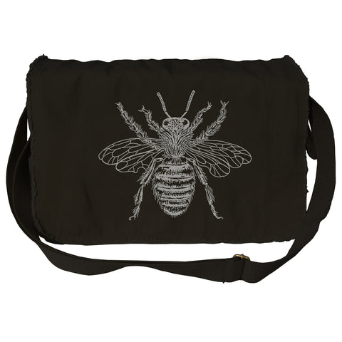 Bee Messenger Bag