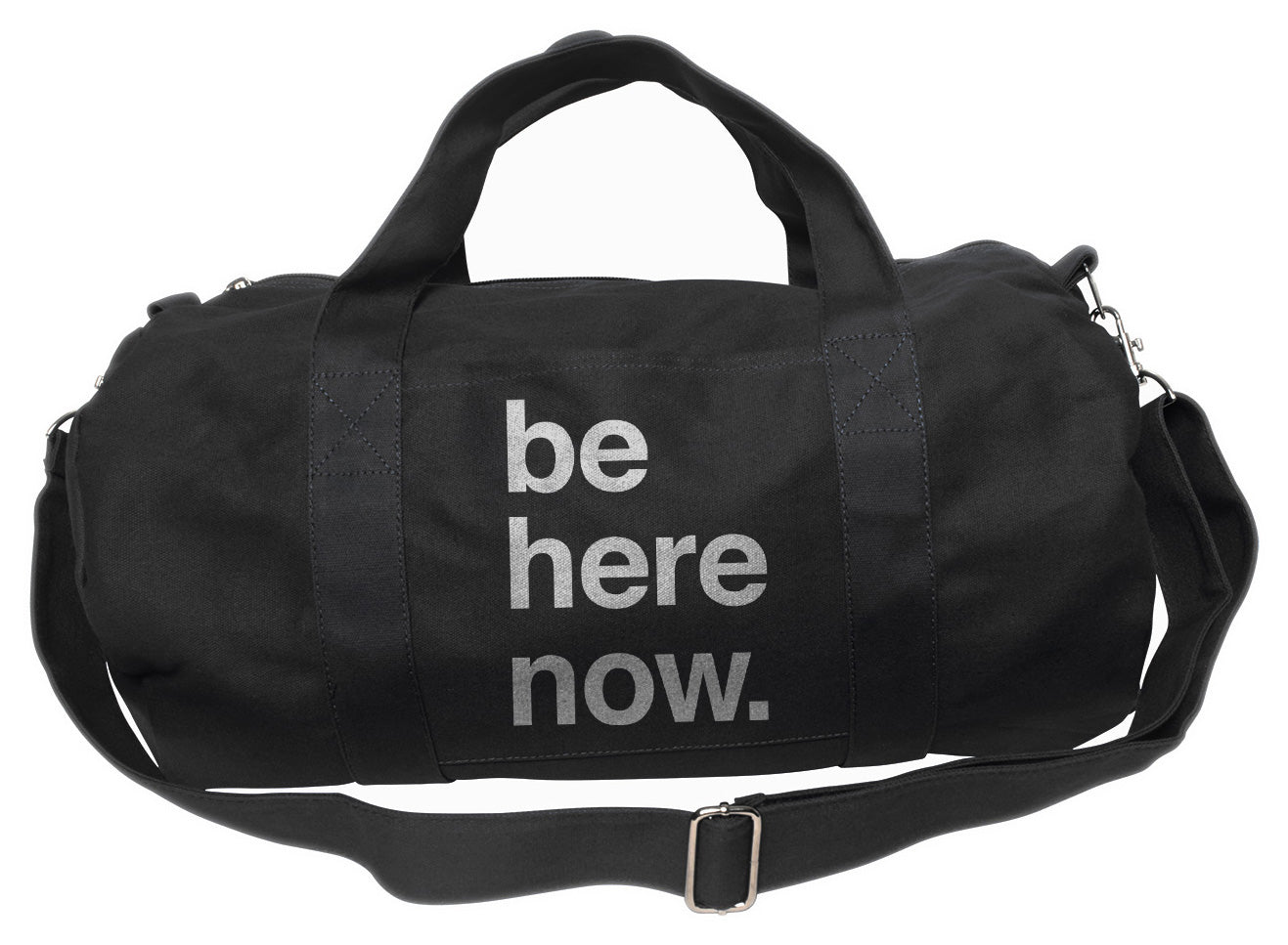 Be Here Now Duffel Bag