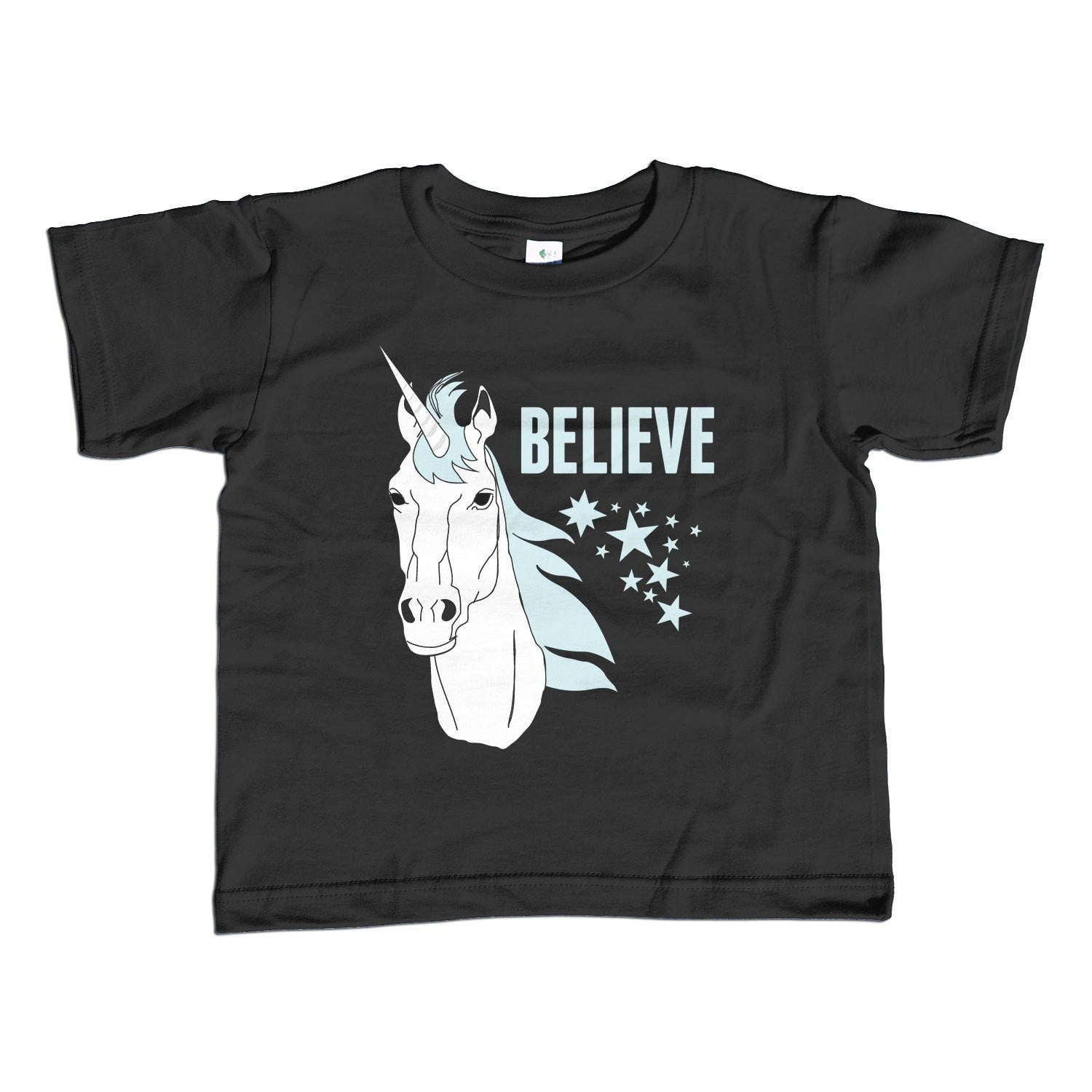 Girl's Believe in Unicorns T-Shirt - Unisex Fit Cute Unicorn Shirt