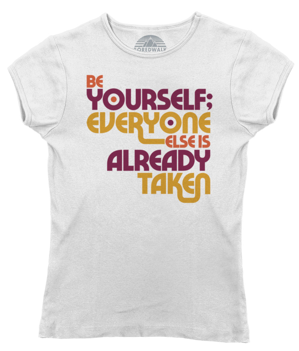 Women's Be Yourself T-Shirt - Oscar Wilde