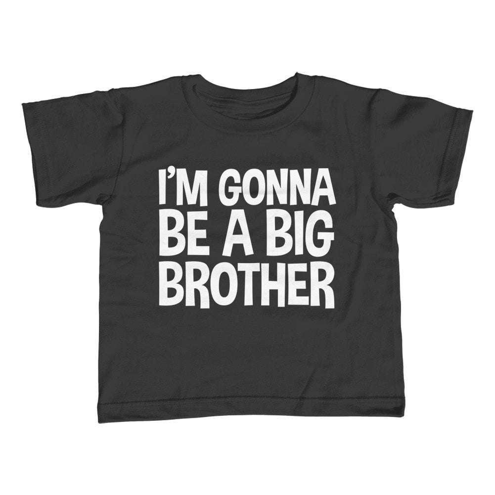 Boy's I'm Gonna be a Big Brother T-Shirt