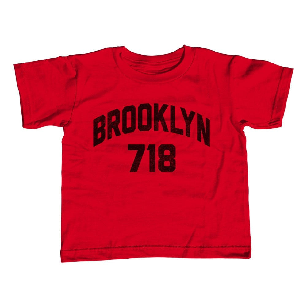 Girl's Brooklyn 718 Area Code T-Shirt - Unisex Fit