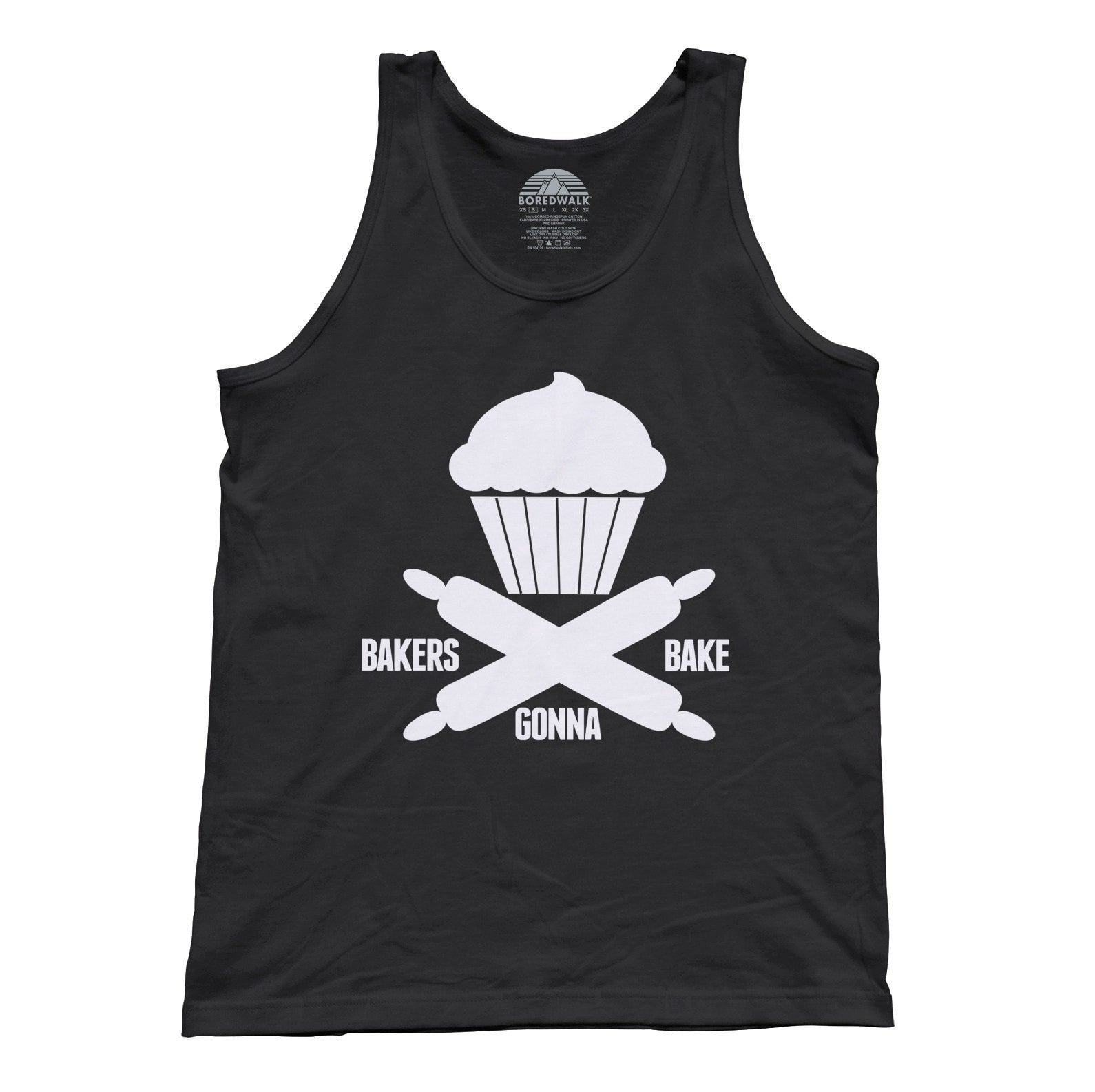 Unisex Bakers Gonna Bake Tank Top