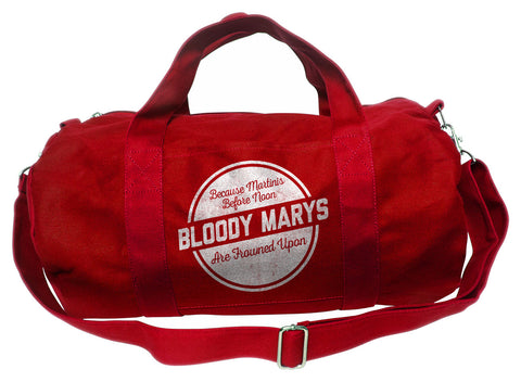 Bloody Marys Martinis Before Noon Are Frowned Upon Duffel Bag