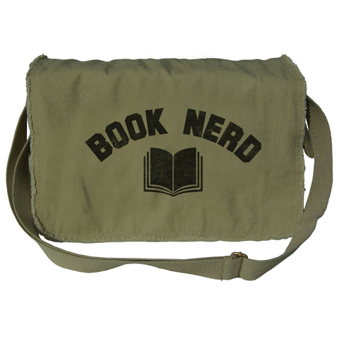 Book Nerd Messenger Bag