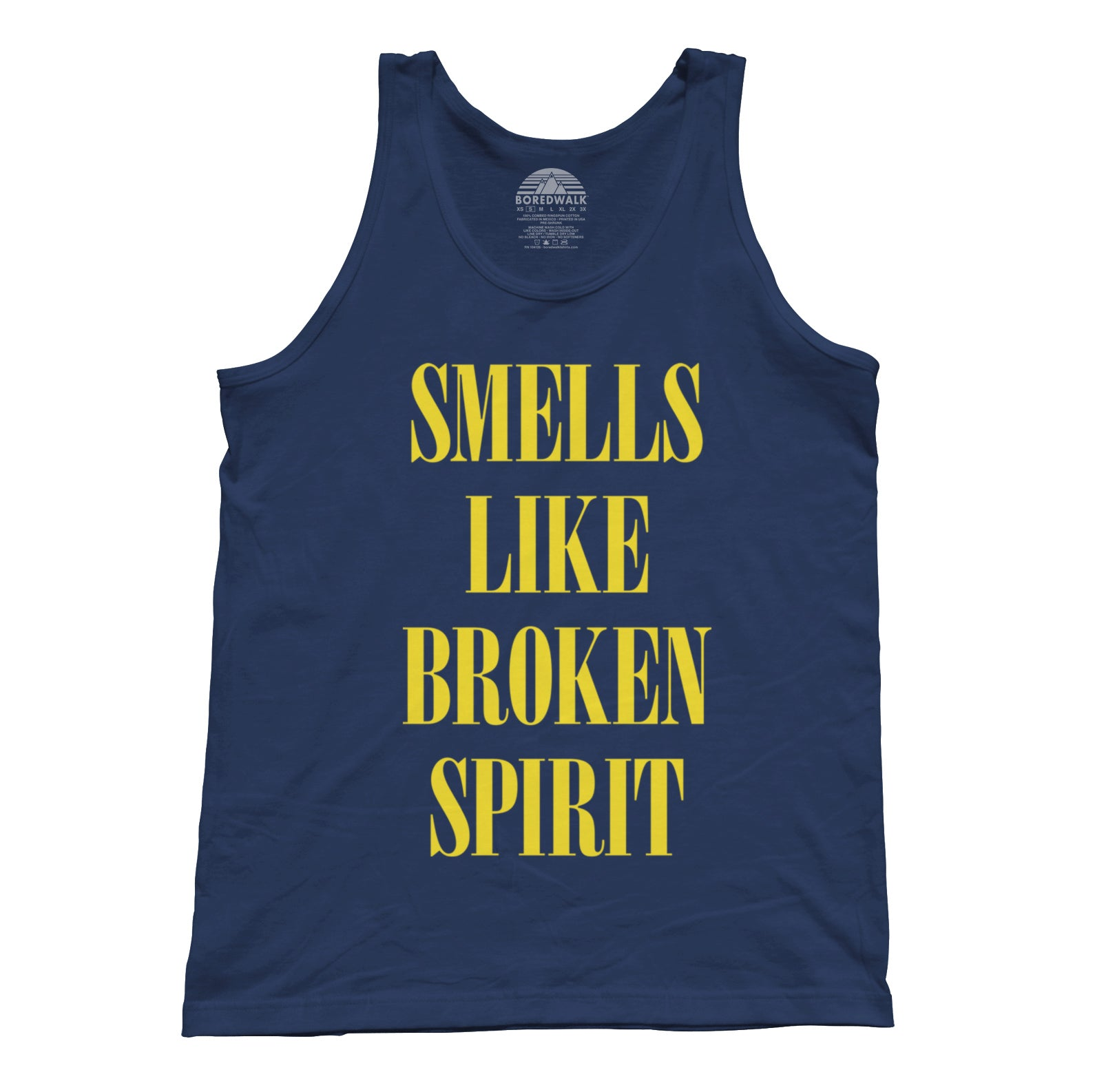 Unisex Smells Like Broken Spirit Tank Top