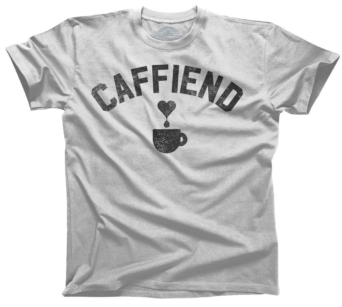 Men's Caffiend T-Shirt Coffee Caffeine