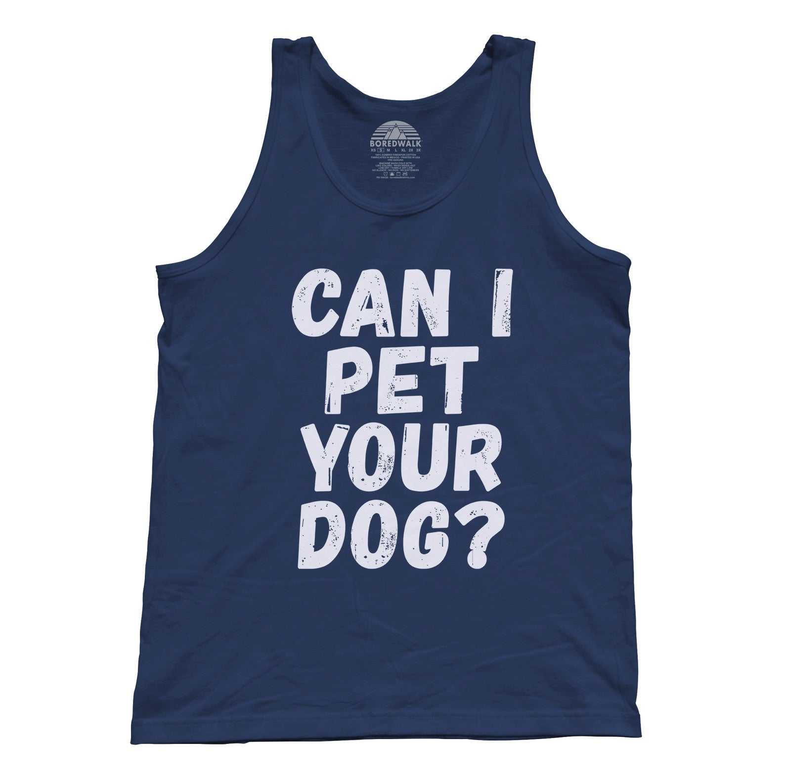 Unisex Can I Pet Your Dog Tank Top - Funny Dog Lover Shirt