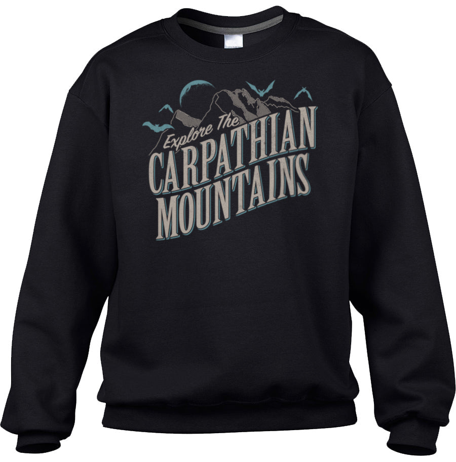 Unisex Explore The Carpathian Mountains Sweatshirt