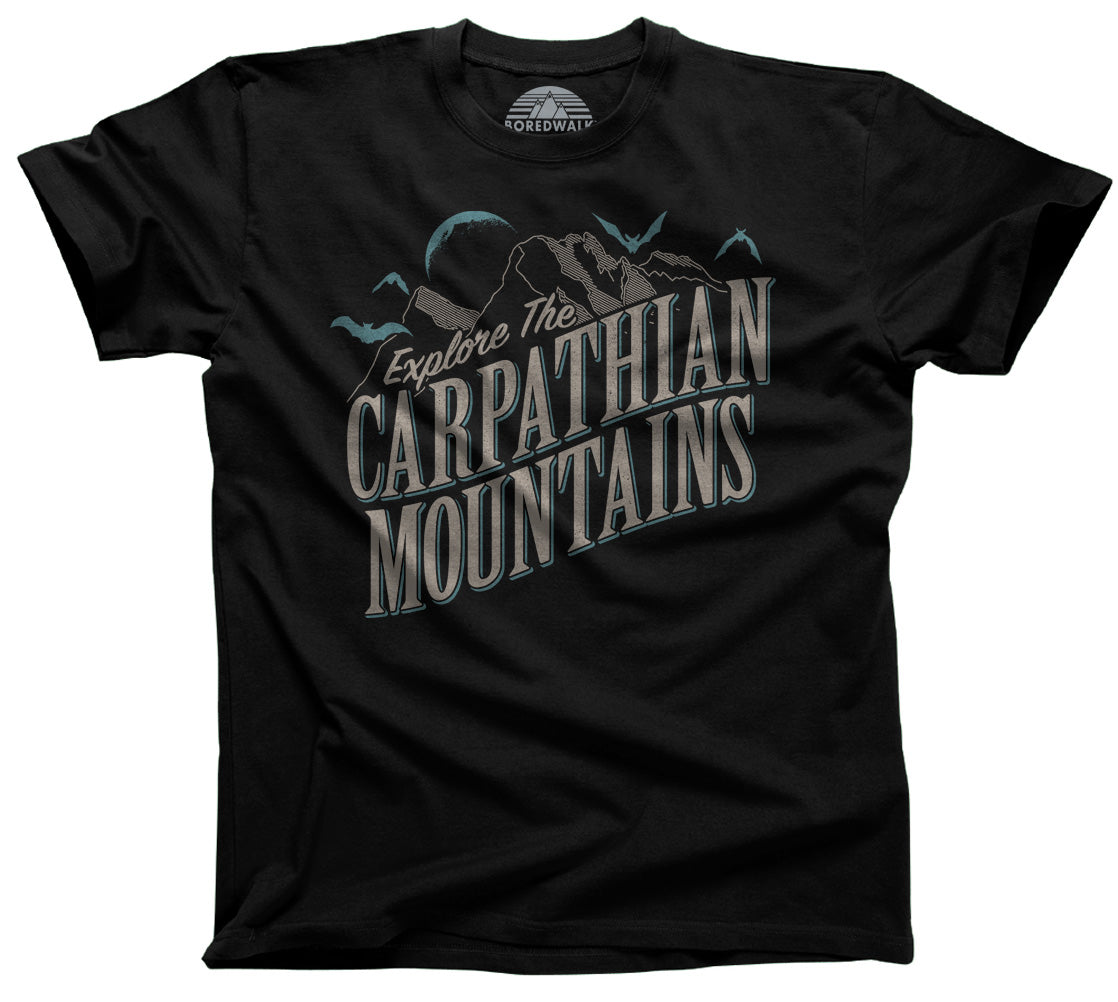 Men's Explore The Carpathian Mountains T-Shirt
