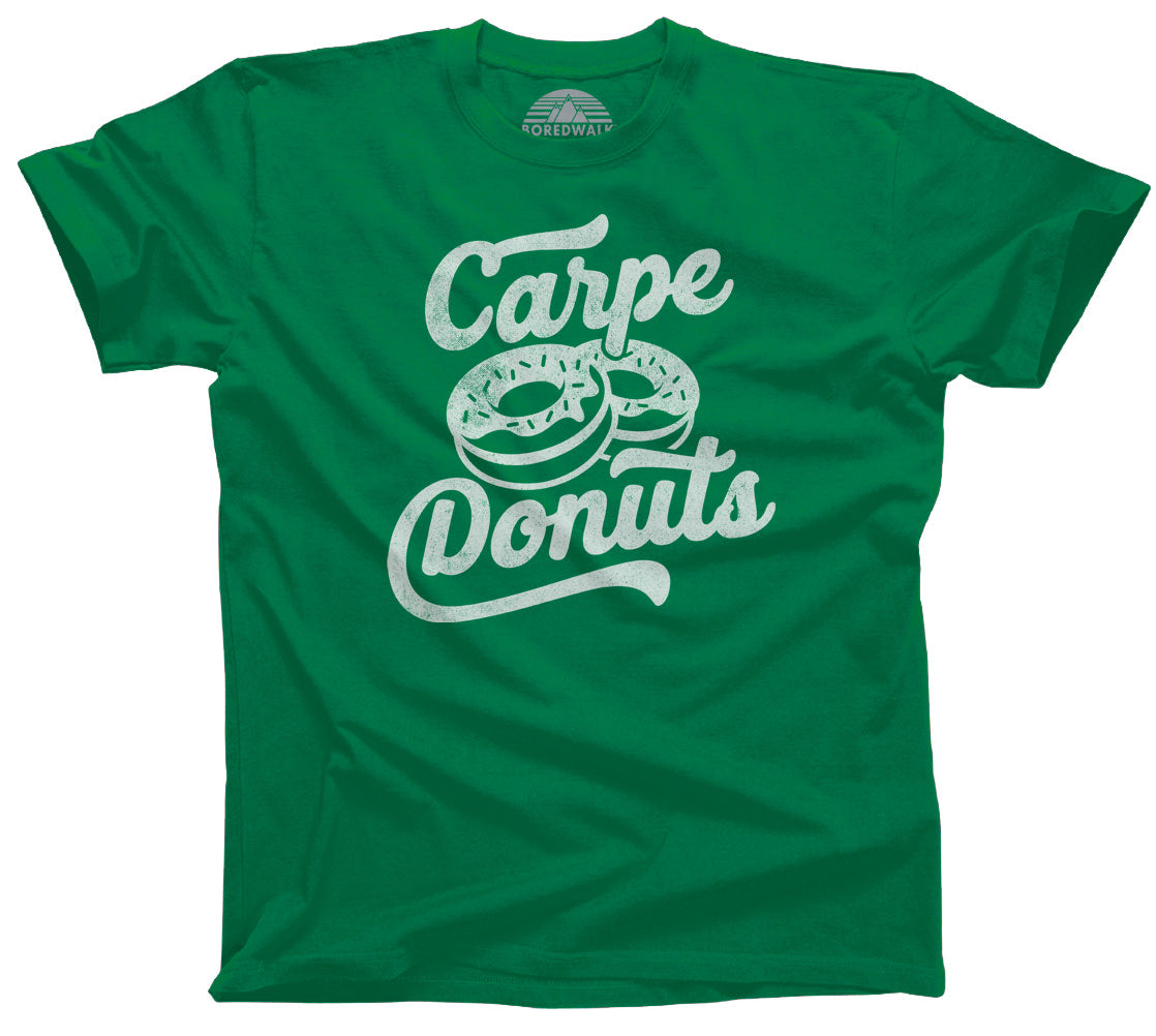 Men's Carpe Donuts T-Shirt - Funny Donut Shirt
