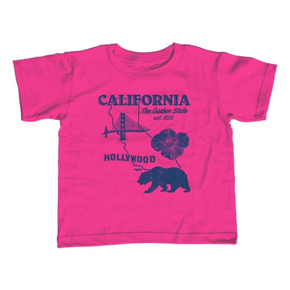 Girl's California T-Shirt - Unisex Fit