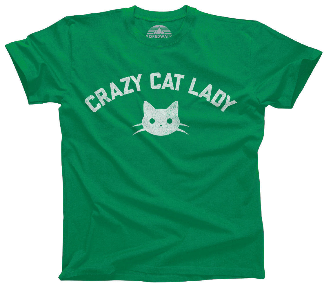 Team Crazy Cat Lady T-Shirt - Relaxed Unisex Fit