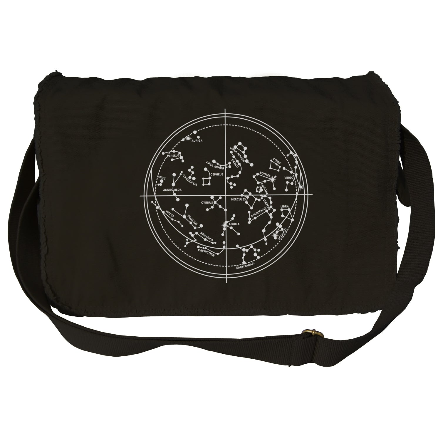 Constellation Map Messenger Bag