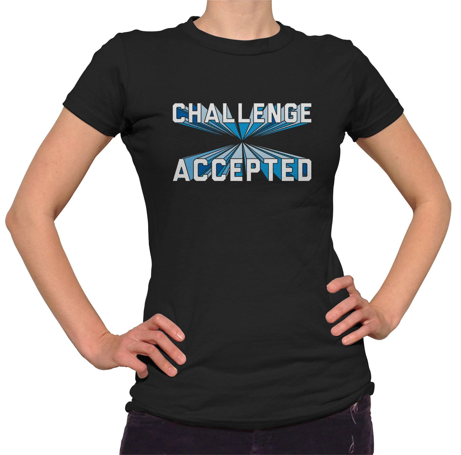 Women's Challenge Accepted T-Shirt