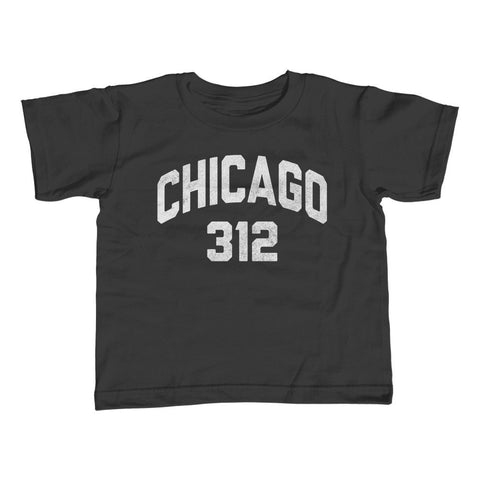 Boy's Chicago 312 Area Code T-Shirt