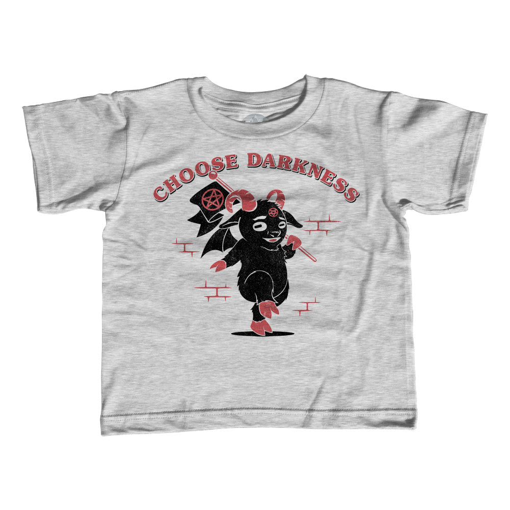 Girl's Choose Darkness T-Shirt - Unisex Fit