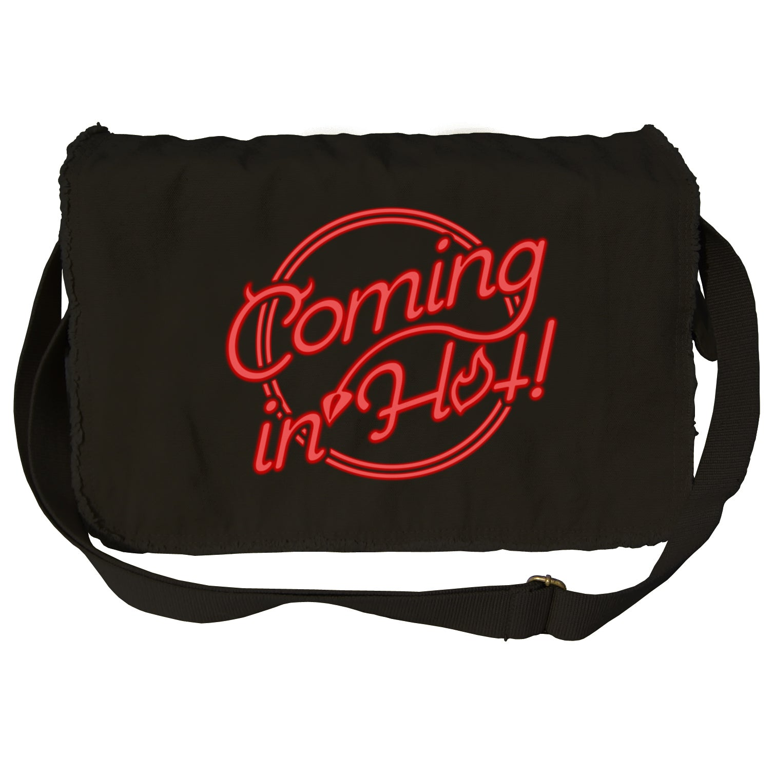 Coming in Hot Messenger Bag