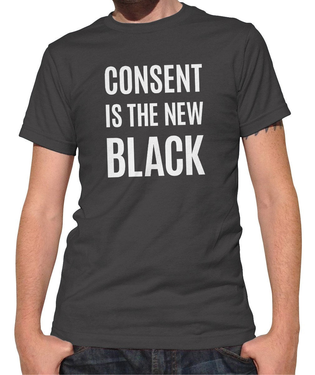 Men's Consent is the New Black T-Shirt
