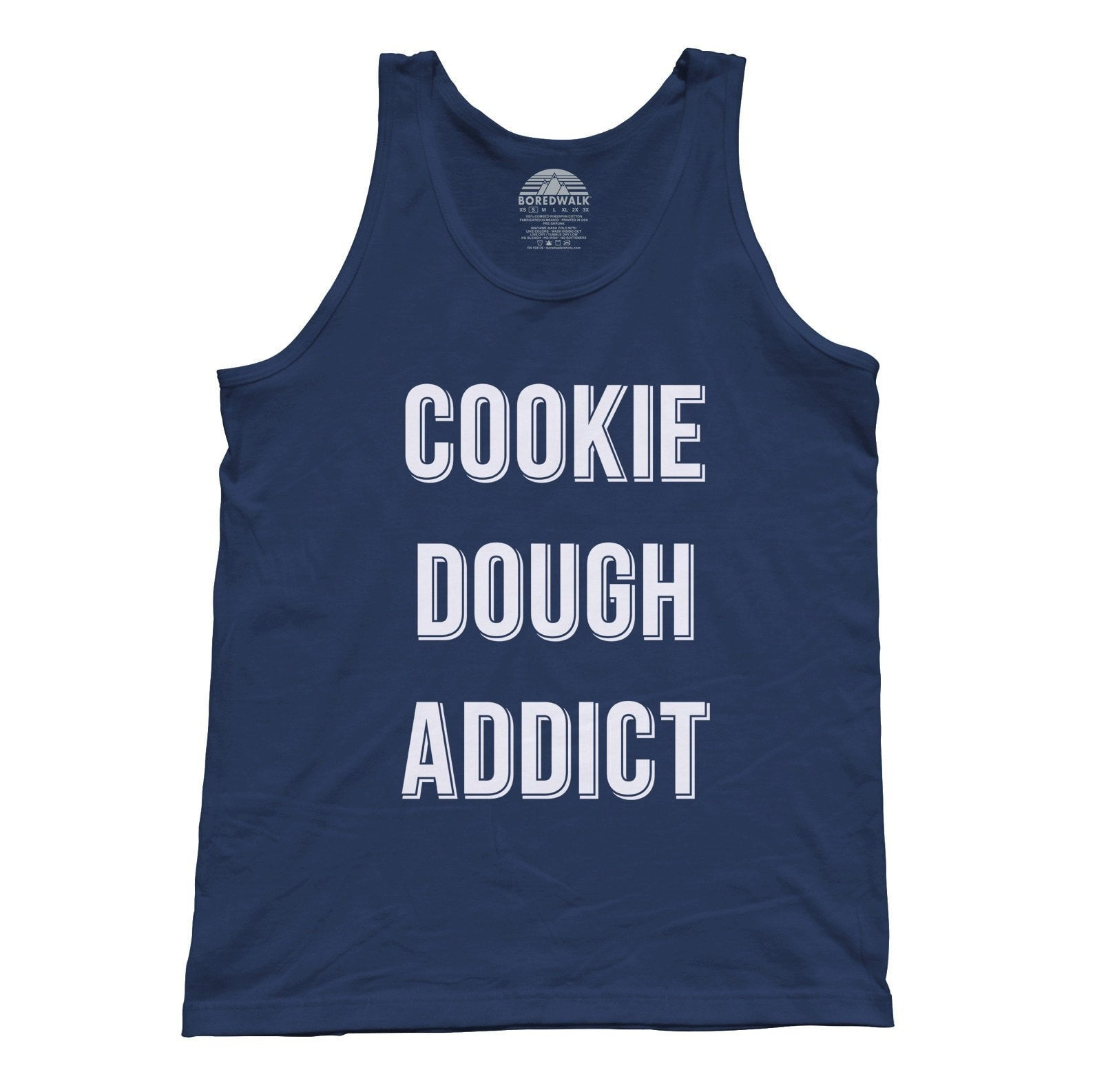 Unisex Cookie Dough Addict Tank Top