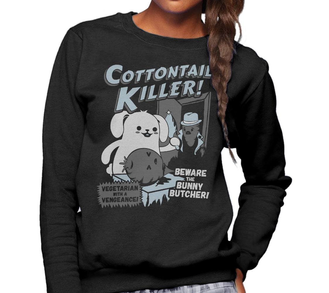 Unisex Cottontail Killer Sweatshirt - By Ex-Boyfriend