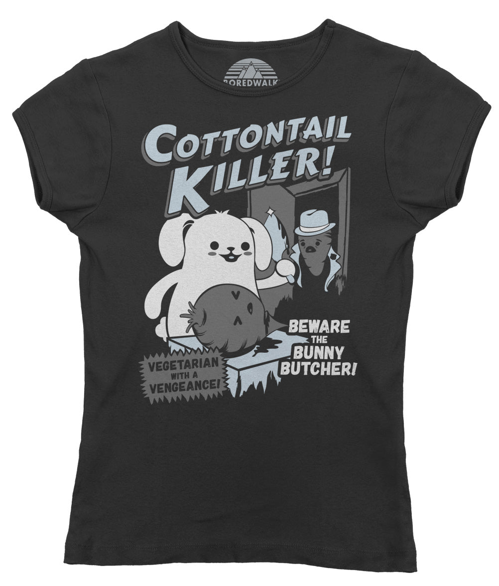 Women's Cottontail Killer T-Shirt - By Ex-Boyfriend