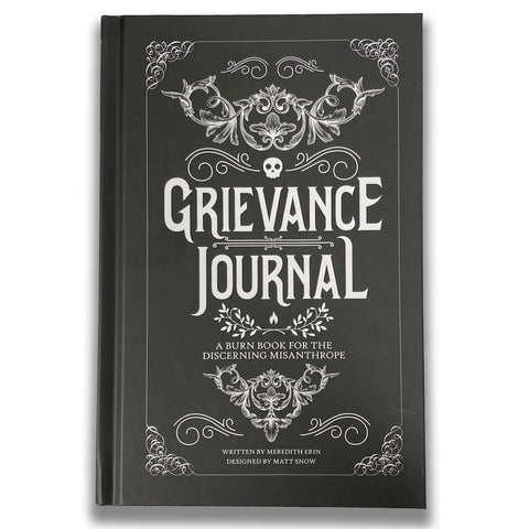 Grievance Journal - PRE-SALE - SHIPS BY 4/30
