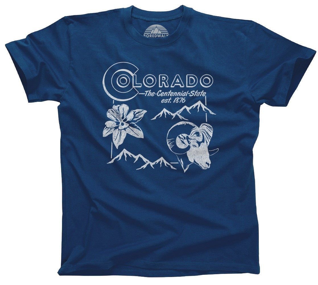 Men's Vintage Colorado State T-Shirt